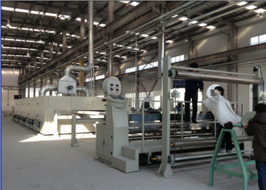 Simple Operation Cloth Finishing Machines , Inverter Controlled Heat Setting Stenter